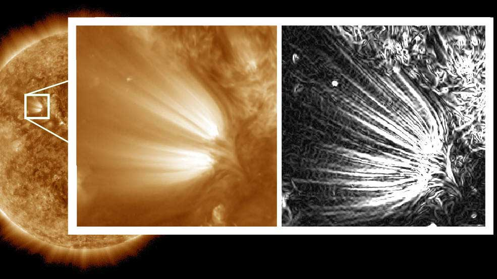 high-resolution images of the Sun
