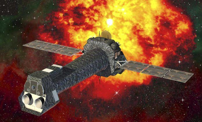 XMM-Newton (X-ray Multi-Mirror Mission) space telescope