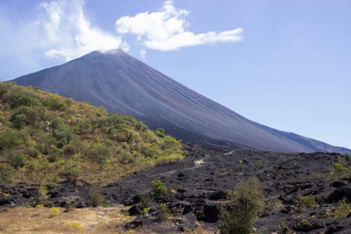 Scientists identified flank instability at Pacaya, an active volcano in Guatemala