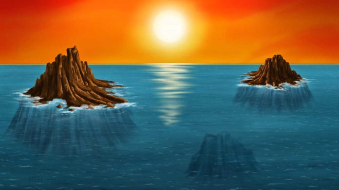 Ancient Earth may have given birth to islands of life