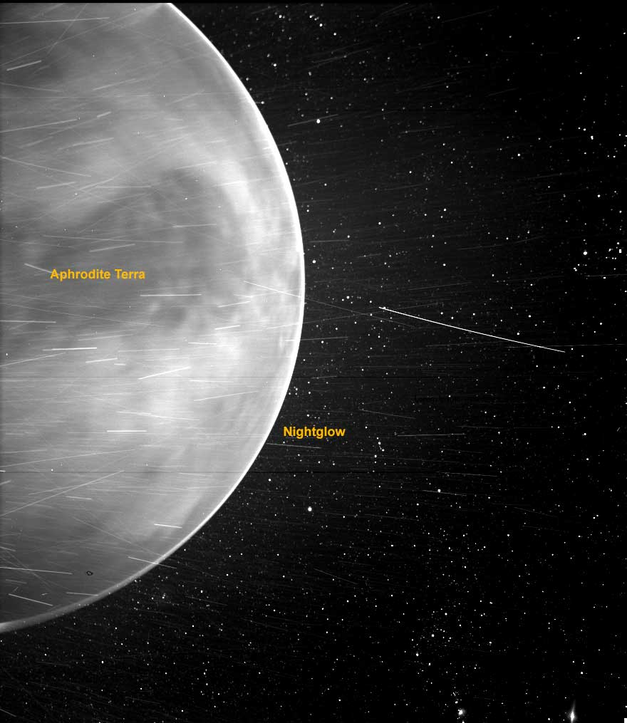 Parker Solar Probe had an up-close view of Venus when it flew by the planet in July 2020