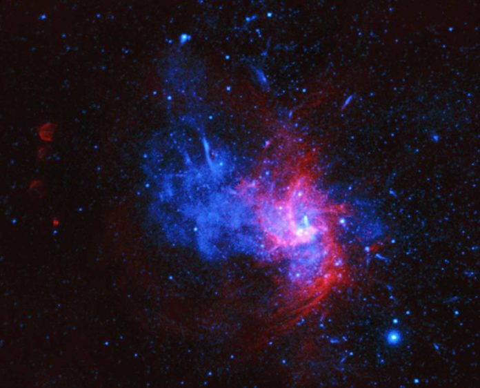 An unusual kind of stellar explosion discovered in the milky way center