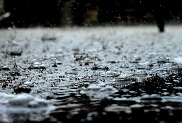 Raindrops are remarkably similar across different planetary environments