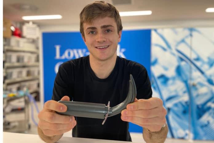 University of Canterbury Engineering PhD student Francis Pooke