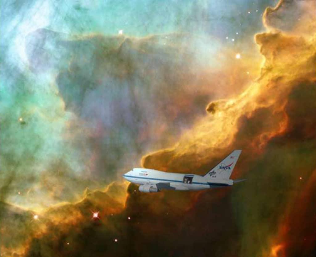 an expanding bubble of stellar gas