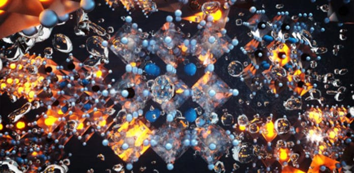 Make more efficient low-cost light-emitting materials by swapping atoms