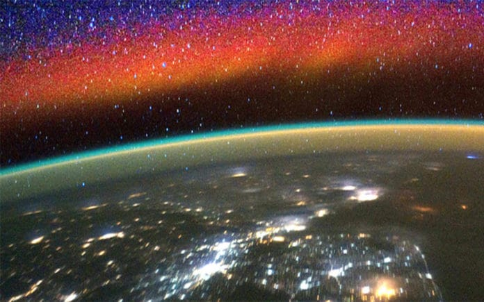 Solar flare and lightning impact the edge of space in an unexpected way
