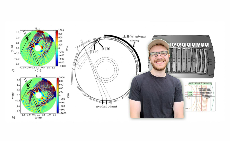 Measuring radio waves in fusion plasmas