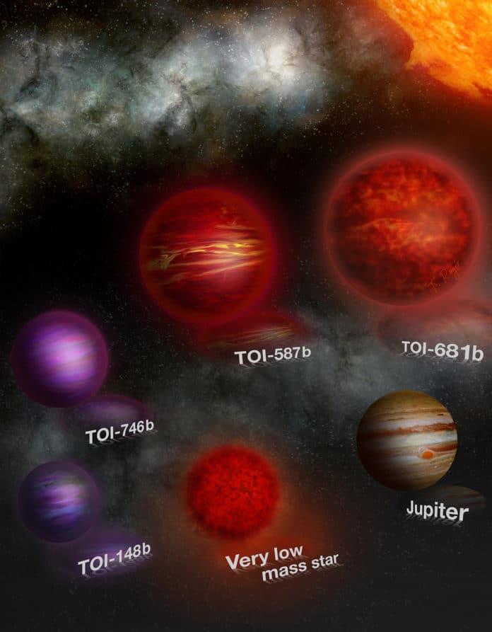 Image showing artist impression of brown dwarf