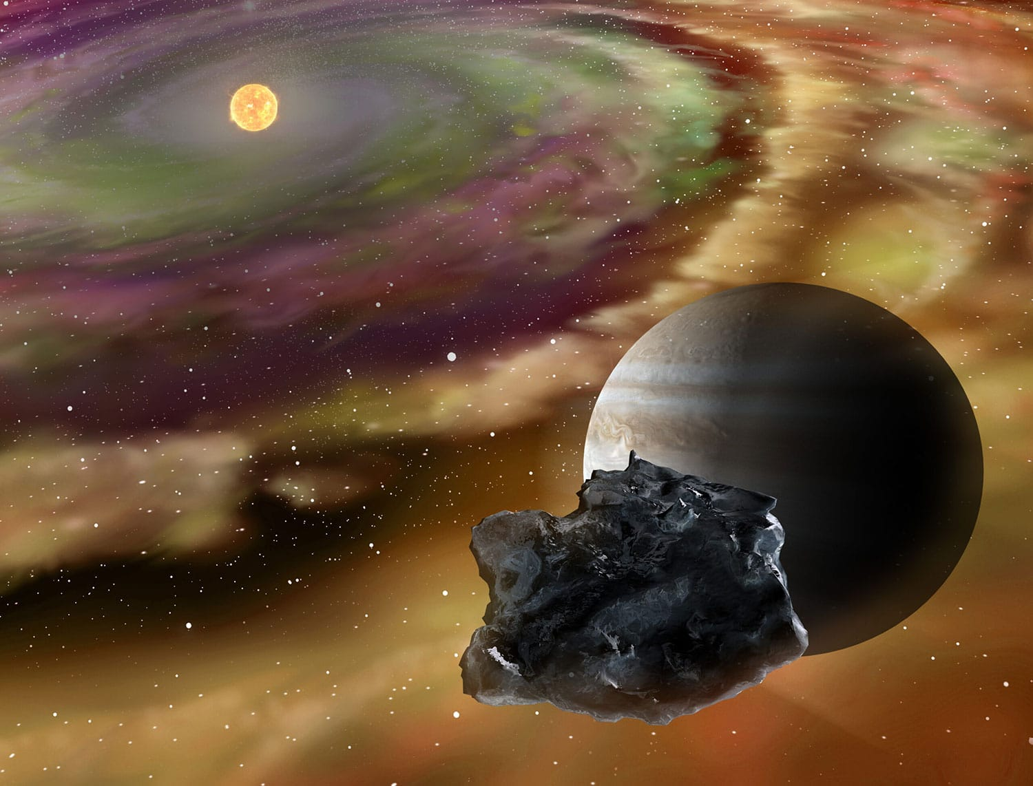 Investigating the dynamics of the early solar system thumbnail