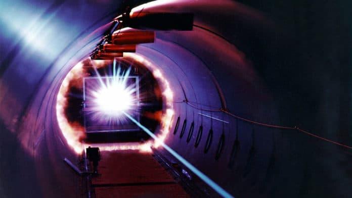 Image showing laser beam