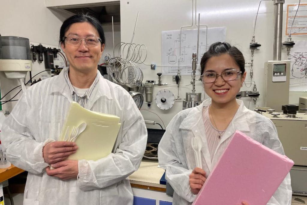 Dr Heon Park with co-author Lilian Lin