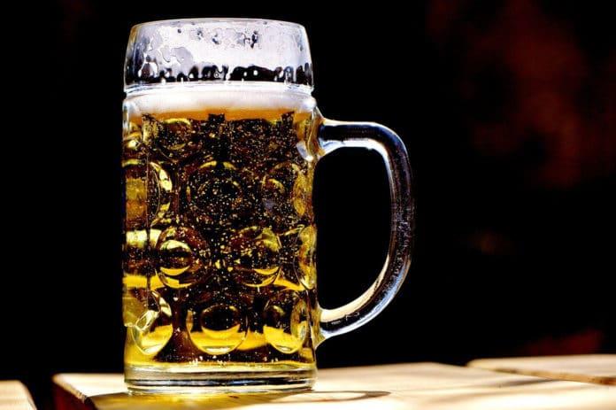 Image showing a mug full of beer
