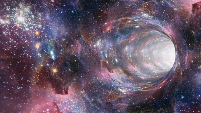 Black holes exert pressure on their environment