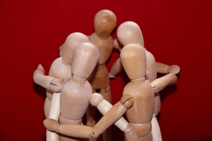 Image showing dummies in group