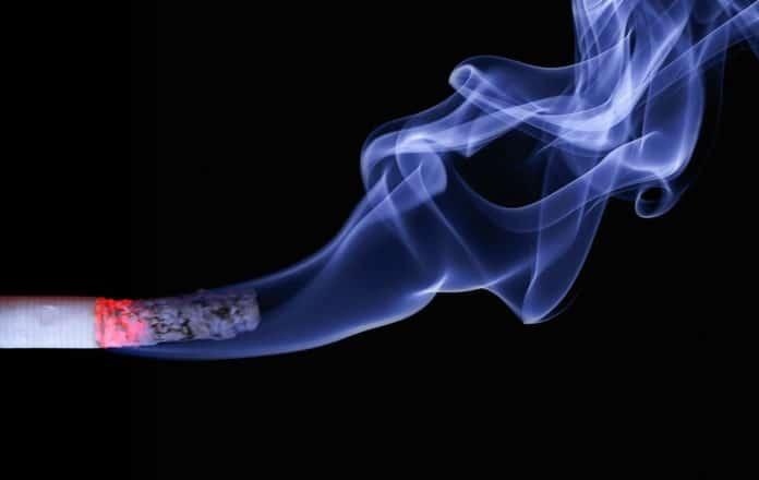 Image showing smoke of cigarette