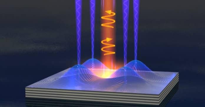 Image showing liquid light